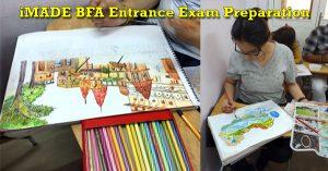 BFA Entrance Exam Coaching Online