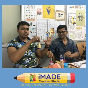 Kids educational toys. Paper model making for NIFT Situation test and NID DAT Mains test.