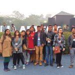 iMADE creative studio students India's most creative event Art India Fair 2019 visit