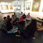 National Gallery of Modern art visit and live classes by Museum guide for information on Indian Art history
