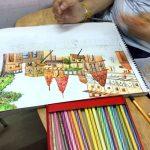 nata-exam-preparation-sketching temple composition