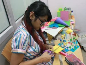 NID DAT Mains and NIFT Situation test preparation model making classes at iMADE