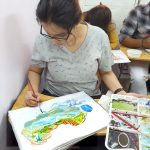 Poster making, Colour handling and Design conceptualisation class