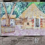 Live outdoor watercolour session