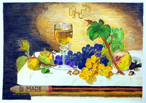 realistic-colour-pencil-artwork-still-life-imade-creative-studio