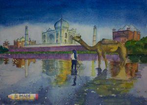 tajmahal-watercolour-painting-imade