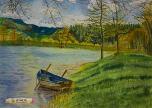 watercolour-landscape-painting–with-boat