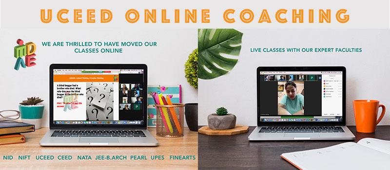 uceed online coaching, UCEED Entrance Exam Coaching Online Classes, online uceed coaching